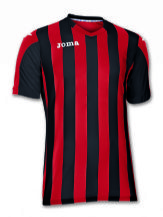 Copa Red/Black Short Sleeve Shirt